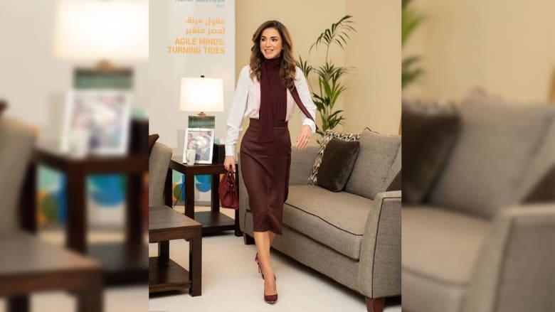 """بتحدي """"عبّر_بوردة"""".. ماذا قالت هذه الفنانة التونسية عن الملكة رانيا؟"""