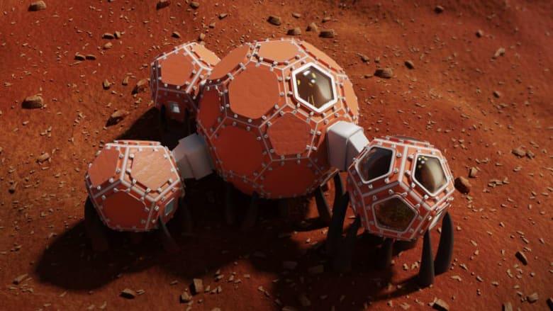 وكالة ناسا تكشف عن 3 تصاميم لمساكن على المريخ