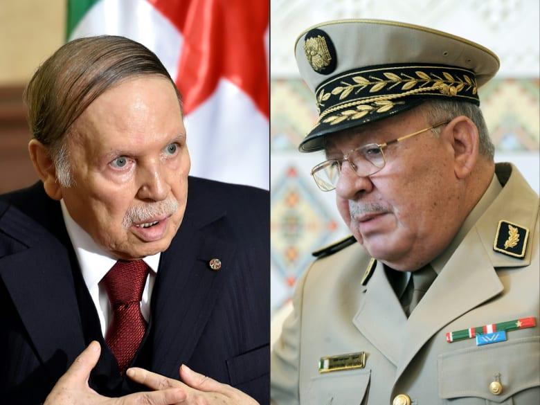 """الجيش الجزائري يأمر باتخاذ إجراءات """"فورية"""" لإعفاء بوتفليقة"""