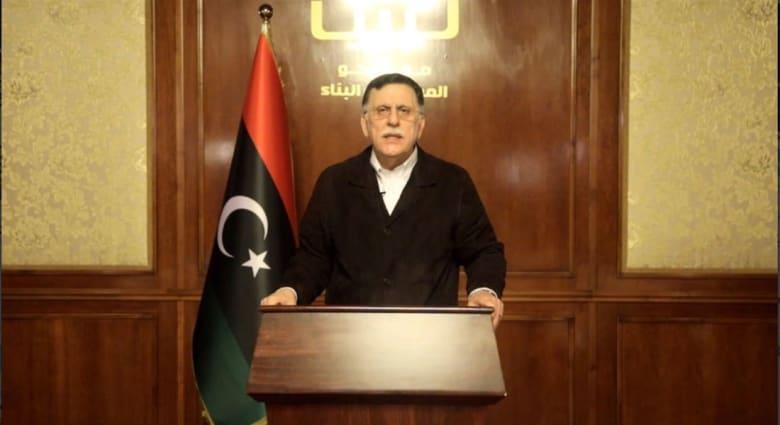 ليبيا.. عبارة خلف فائز السراج بخطابه السبت تثير جدلا وتكهنات