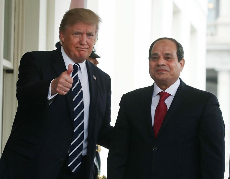 """""""هيومن رايتس ووتش"""" تطالب الكونغرس بدلا من ترامب بمواجهة """"مأسسة القمع"""" في مصر"""