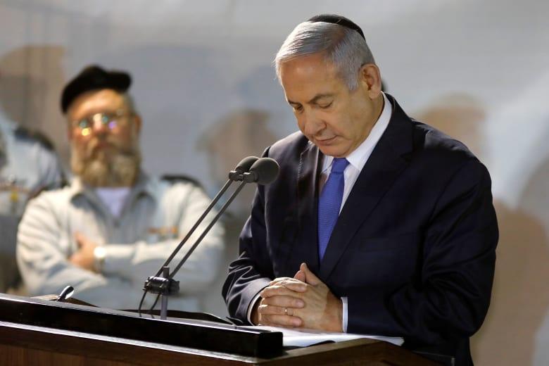 """نتنياهو يوجه """"اتهاما"""" لمنافسه بإبرام صفقة مع الأحزاب العربية لتشكيل حكومة يسار"""