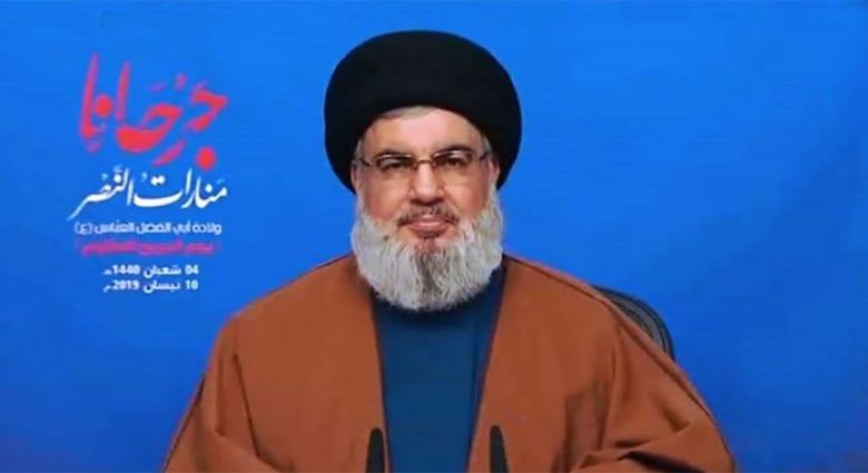 """نصرالله """"يحلل"""" تصنيف الحرس الثوري الإيراني.. ويؤكد: """"الحجة الإلهية"""" تكبر في اليمن"""