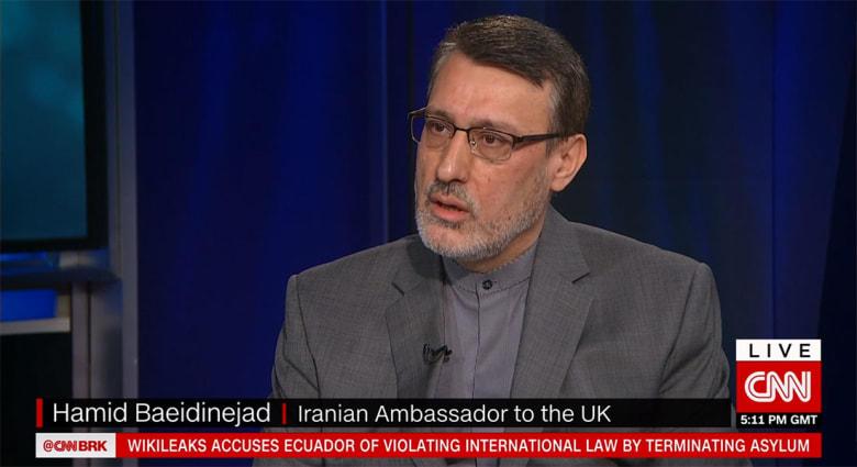دبلوماسي إيراني يتحدث لشبكتنا عن الوضع بالخليج بعد تصنيف الحرس الثوري