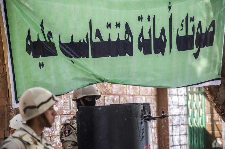 """بـ""""خبرات سابقة"""".. الجيش المصري يعلن مشاركته في تأمين استفتاء التعديلات الدستورية"""