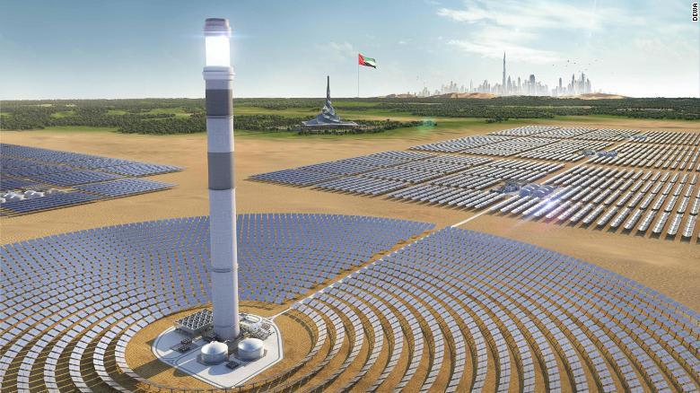 حديقة شمسية بقيمة 13.6 مليار دولار في صحراء دبي.. فما مميزاتها؟