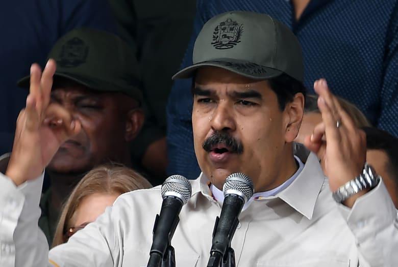 """آخر التطورات من فنزويلا.. مادورو يؤكد فشل """"محاولة الانقلاب"""""""
