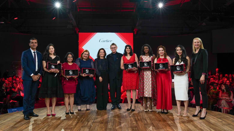 """رائدة أعمال إماراتية تفوز بجائزة مبادرة النساء من """"كارتييه"""""""