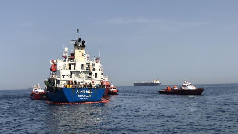 """مسؤول أمريكي: الإمارات طلبت مساعدة واشنطن بكشف ملابسات """"تخريب"""" السفن"""