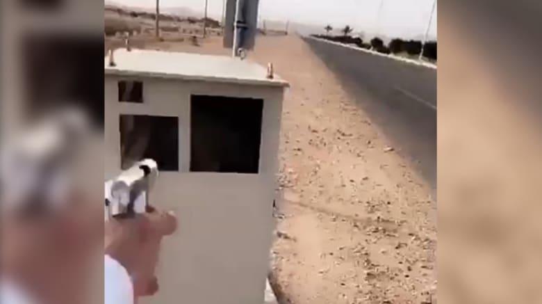 """السعودية: مطلق النار على جهاز """"ساهر"""" في قبضة الشرطة"""