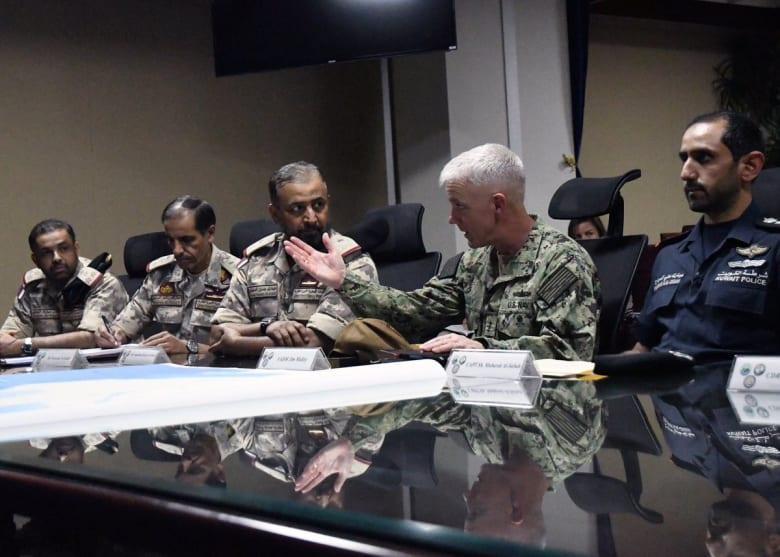 """سفارة واشنطن في قطر: اجتماع عسكري أمريكي-خليجي """"رفيع المستوى"""" في البحرين"""