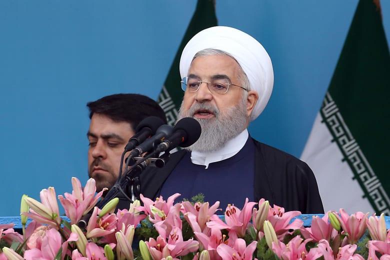 """روحاني: الإيرانيون أجبروا """"العدو"""" على التراجع ونحن أهل """"التفاوض والمنطق"""""""