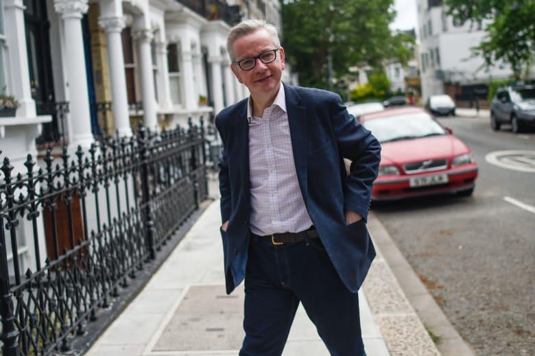 مايكل جوف قيادي بحزب المحافظين في بريطانيا