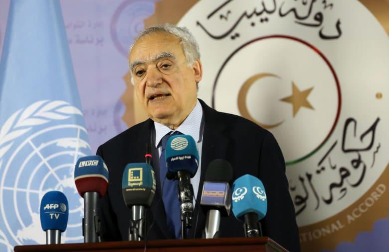 غسان سلامة مبعوث الأمم المتحدة إلى ليبيا