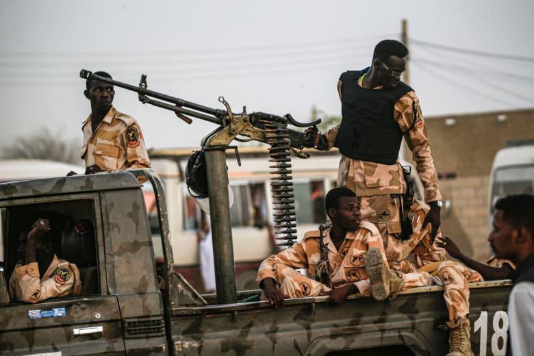 ميلشيات مسلحة في الخرطوم