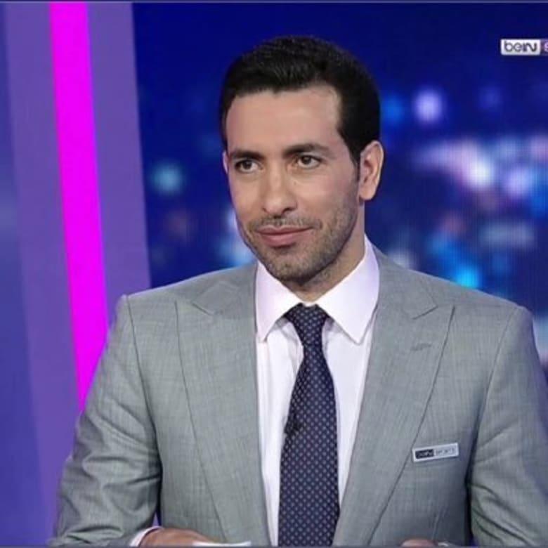 محمد أبو تريكة لاعب المنتخب المصري السابق لكرة القدم
