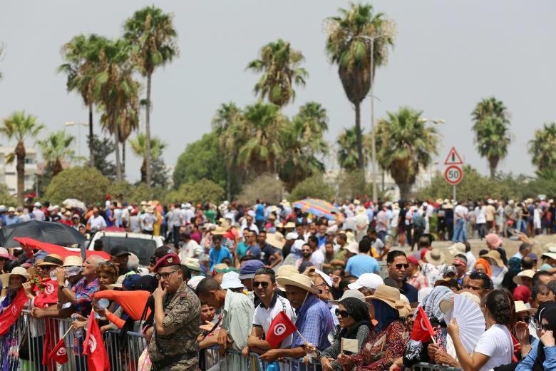 جنازة الرئيس التونسي
