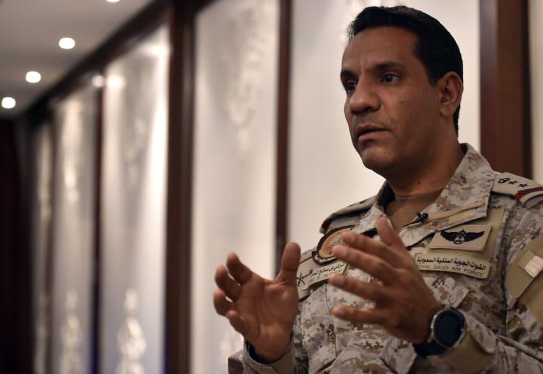 العقيد تركي المالكي المتحدث باسم تحالف دعم الشرعية في اليمن