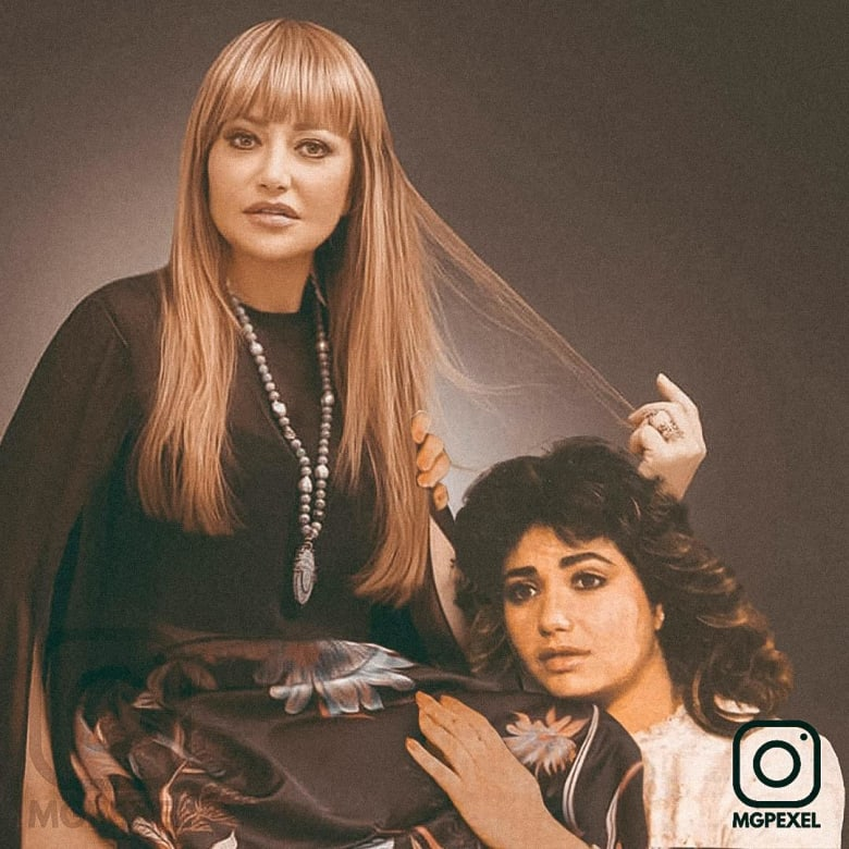 عادل إمام وشريهان في صورٍ تجمعهم بأنفسهم في مرحلة البدايات
