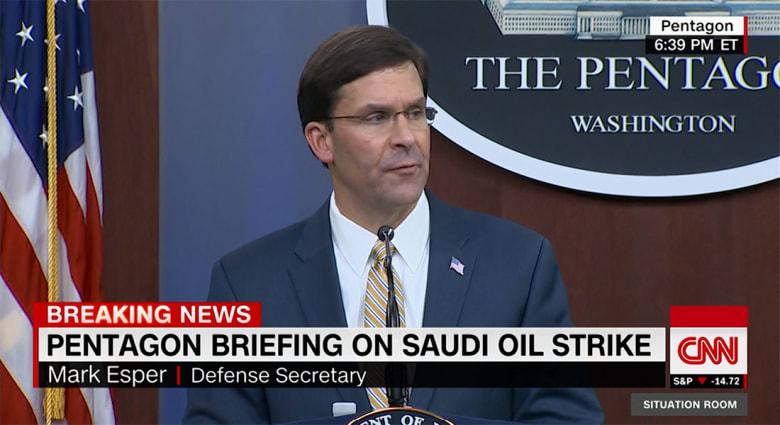 البنتاغون يوضح طبيعة القوات والمعدات المرسلة إلى السعودية والإمارات بعد هجوم أرامكو