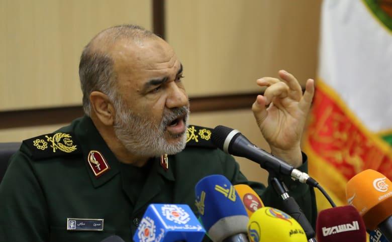 اللواء حسين سلامي قائد الحرس الثوري الإيراني