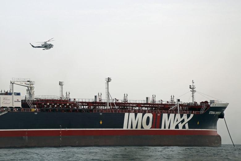 إطلاق سراح ناقلة النفط البريطانية المحتجزة لدى إيران خلال ساعات