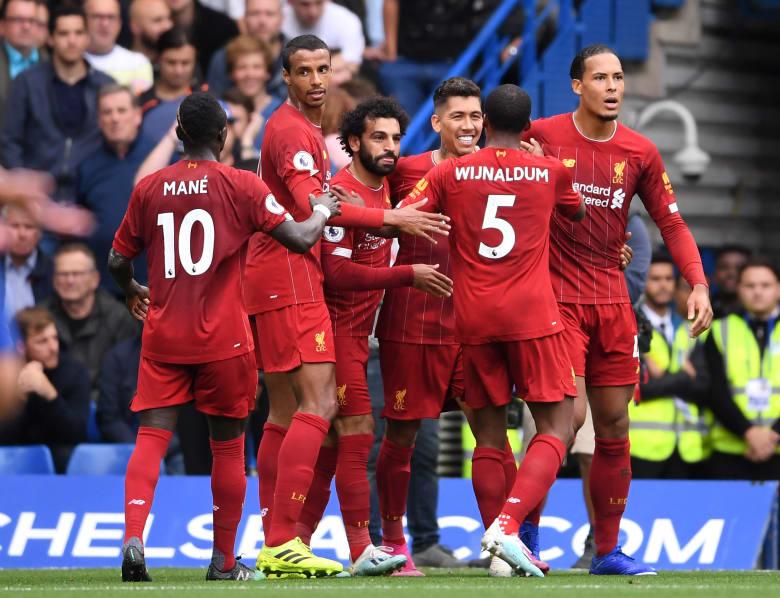 ليفربول يحافظ على صدارة الدوري الإنجليزي بلا هزيمة حتى الآن