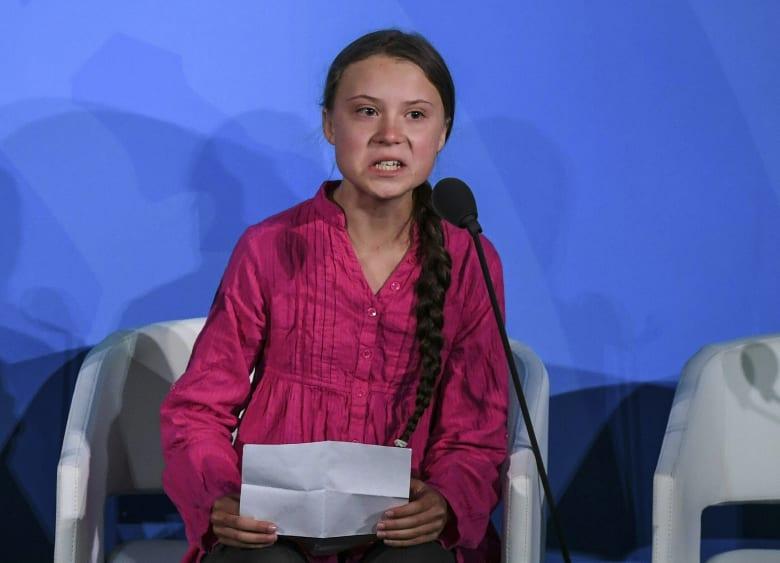 غريتا تونبرغ تنتقد زعماء العالم في كلمتها بقمة الأمم المتحدة عن التغير المناخي