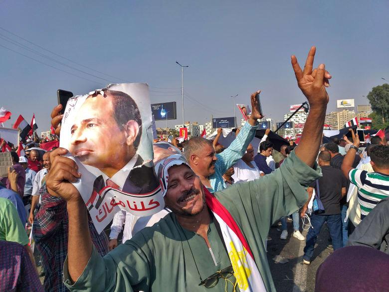 """أول تعليق من محمد علي بعد فشل """"مليونية"""" ضد السيسي في مصر"""