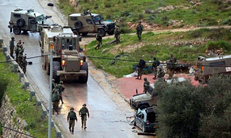 الجيش الإسرائيلي يعلن العثور على بقايا قذيفة صاروخية من مصر