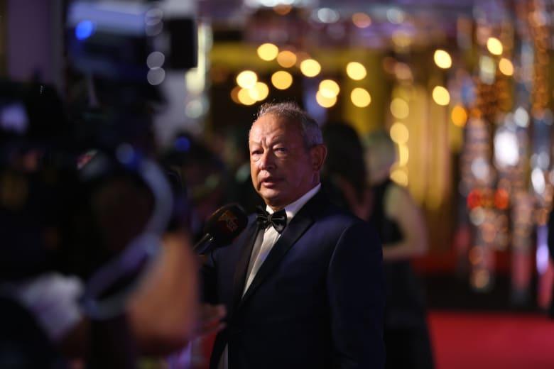 """كيف رد نجيب ساويرس على """"استضافة"""" صحفي إسرائيلي بمهرجان الجونة السينمائي؟"""