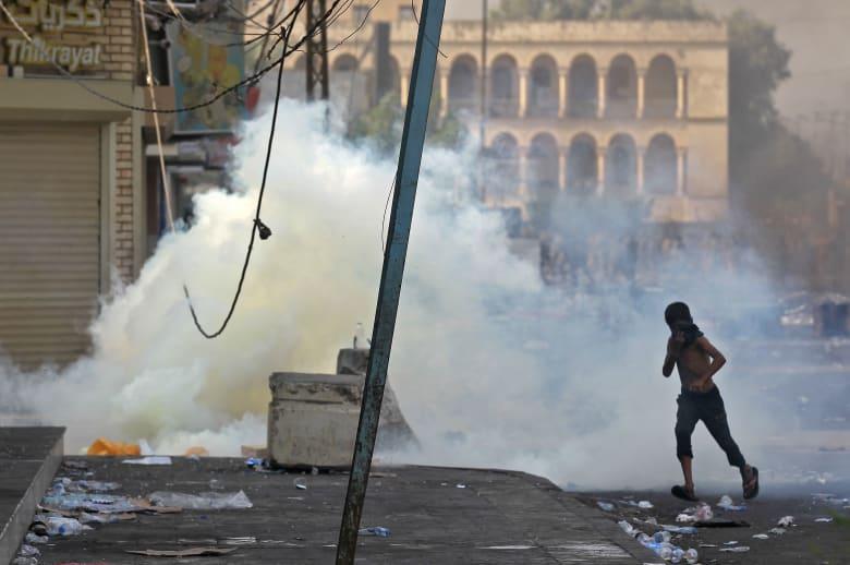 ارتفاع عدد قتلى احتجاجات العراق إلى 18 شخصًا وإصابة المئات