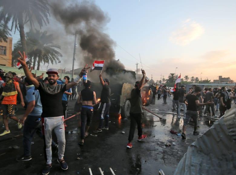 المرجعية الشيعية العليا بالعراق توجه 4 مطالب للحكومة عقب المظاهرات