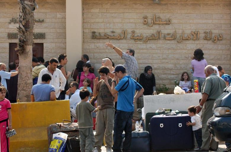 صورة أرشيفية للسفارة الإماراتية في بيروت