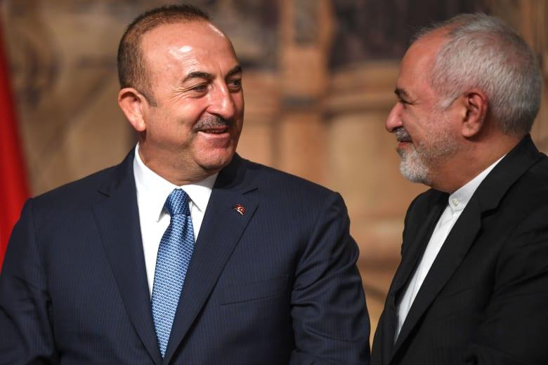 """إيران ترفض عملية أردوغان العسكرية في سوريا.. وأغلو: """"إجراء مؤقت"""""""