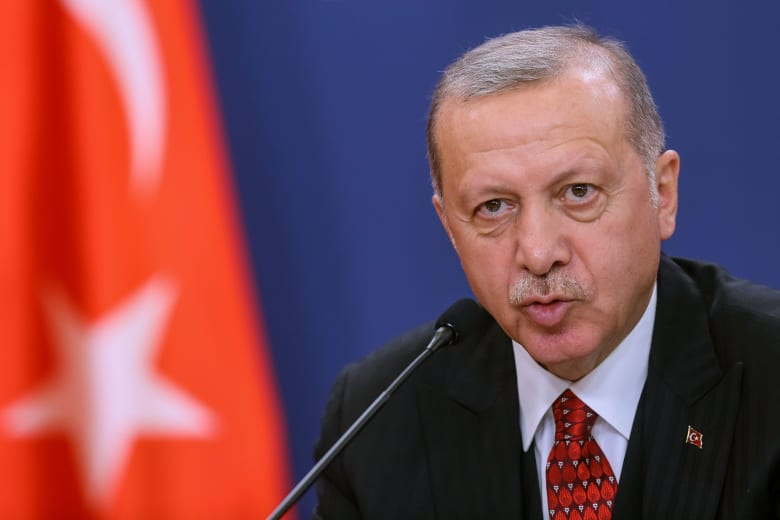 """الراسة التركية تنشر صورا للحظة إعطاء أردوغان الأمر ببدء عملية """"نبع السلام"""" في سوريا"""