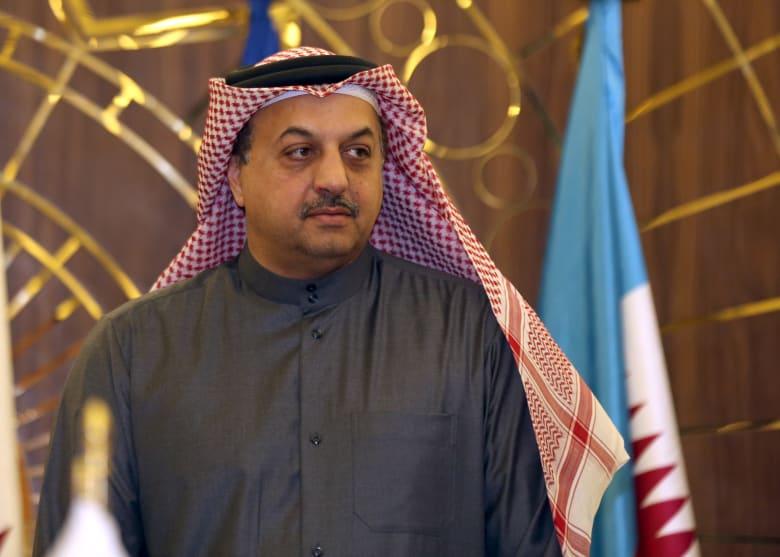 صورة أرشيفية لوزير الدفاع القطري خالد بن محمد العطية