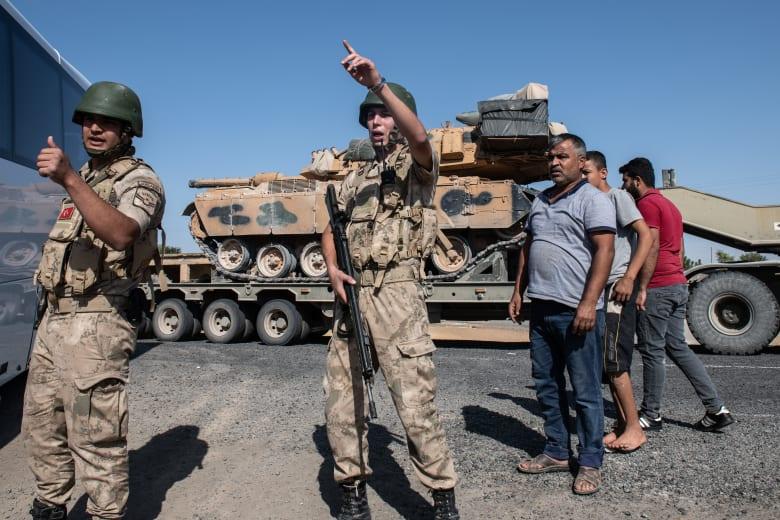 """تركيا تعلن السيطرة على أول مدينة رئيسية من """"قسد"""" بسوريا"""