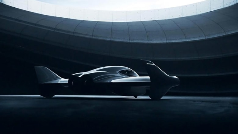 بوينغ وبورش تطوران سيارة طائرة كهربائية بالكامل
