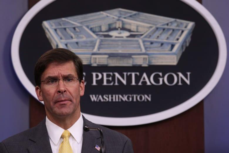 مارك إسبر: ترامب أمر بسحب معظم القوات الأمريكية المُتبقية في سوريا