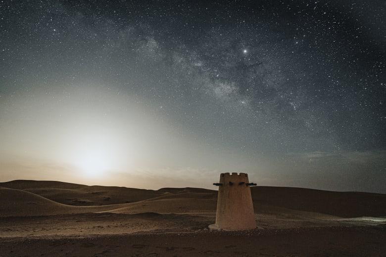 في صحراء أبو ظبي