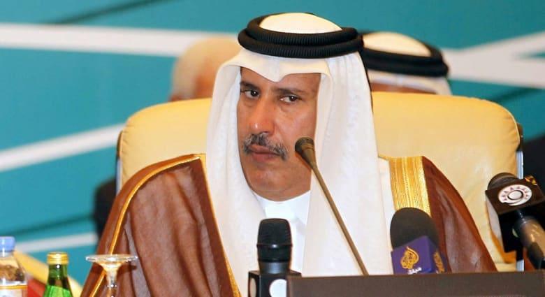 """أول تغريدة لرئيس وزراء قطر الأسبق حمد بن جاسم عن عمليات تركيا بسوريا و""""ضحالة التقديرات العربية"""""""