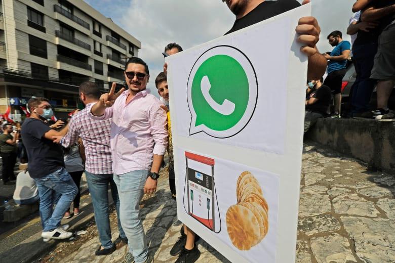 مظاهرات لبنان.. جنبلاط يدعو أنصاره للتحرك السلمي: في مناطقنا لعدم خلق حساسيات