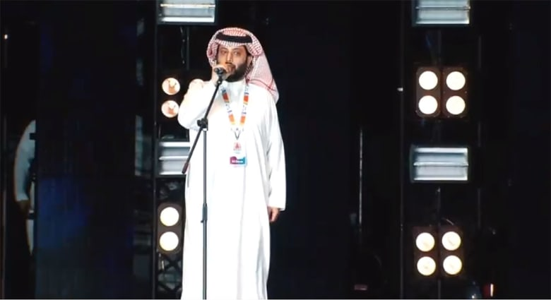 ياسر أبوهلالة يهاجم تركي آل الشيخ وموسم الرياض.. والأخير يرد: من ورا الشبك