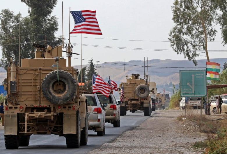 بغداد: القوات الأمريكية المنسحبة من سوريا لن تبقى في العراق