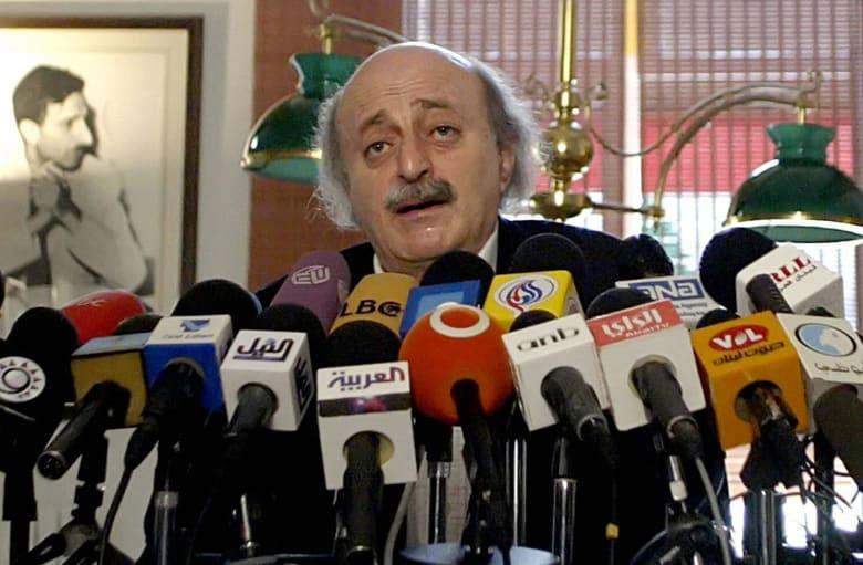 جنبلاط يطالب بتعديل حكومي في لبنان: خطة الحريري مخدرات واهية