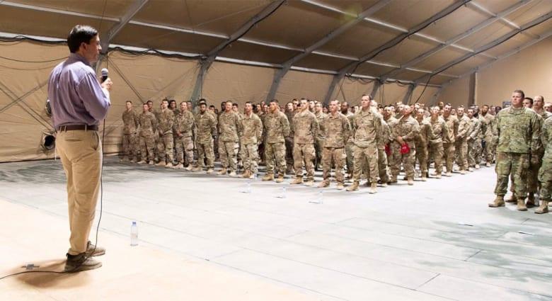 بالصور.. القوات الأمريكية بقاعدة الأمير سلطان في السعودية