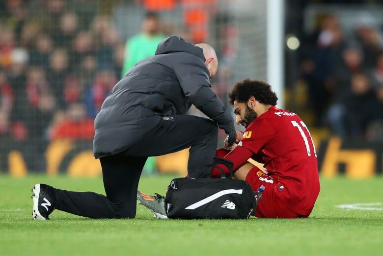 أول تلعيق من مدرب ليفربول على تجدد إصابة محمد صلاح