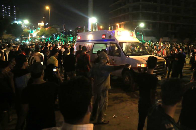 ارتفاع عدد القتلى في احتجاجات العراق إلى 74 وأكثر من 3600 مصاب