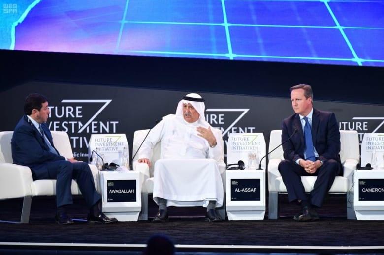 """أهم ما قاله وزير خارجية السعودية السابق إبراهيم العساف بـ""""مستقبل الاستثمار 2019"""""""